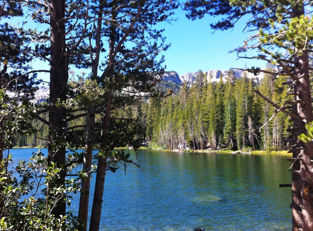 mammoth lakes, USA, lago, california