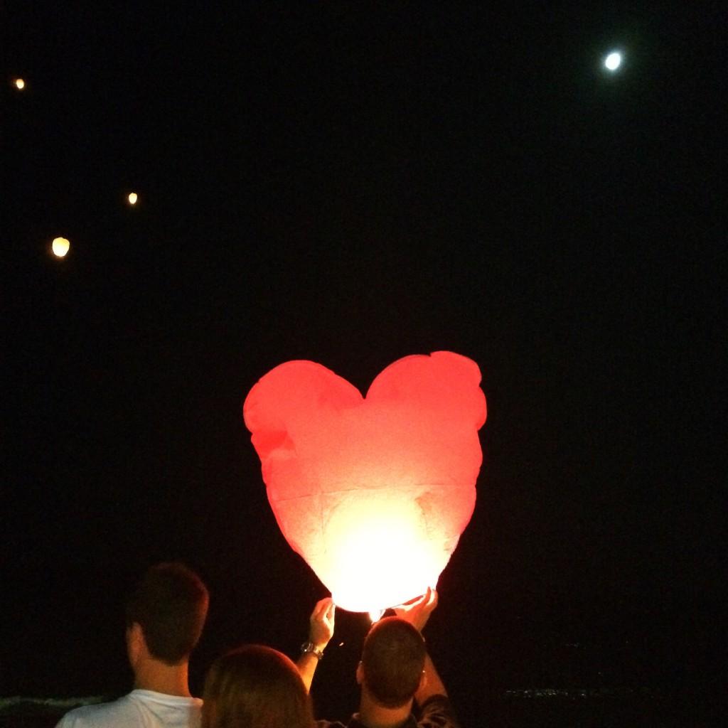 deseos en corazones