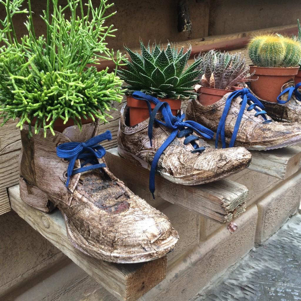 Zapatos en La Toscana