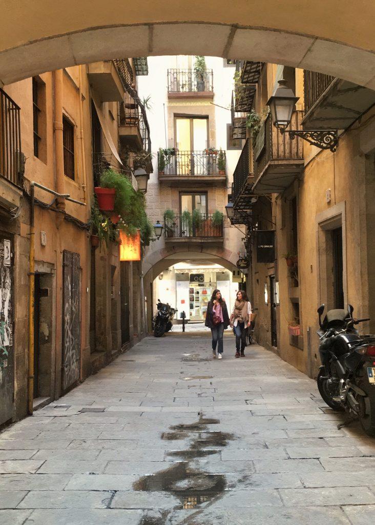 Born, Barcelona.